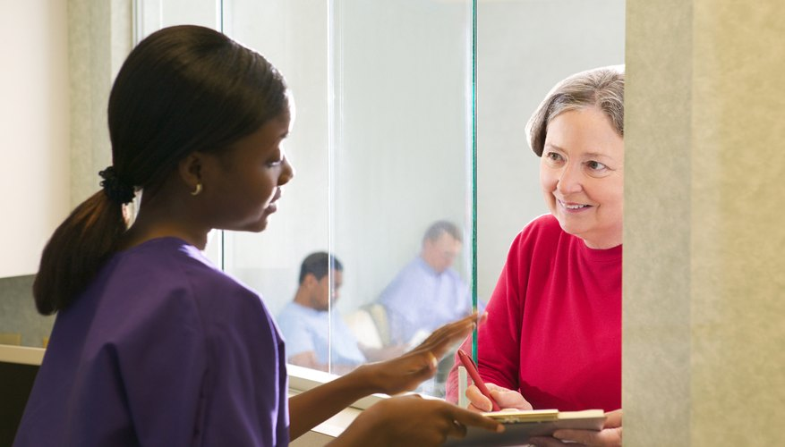 The medical office can often help you in dealing with your insurance company.