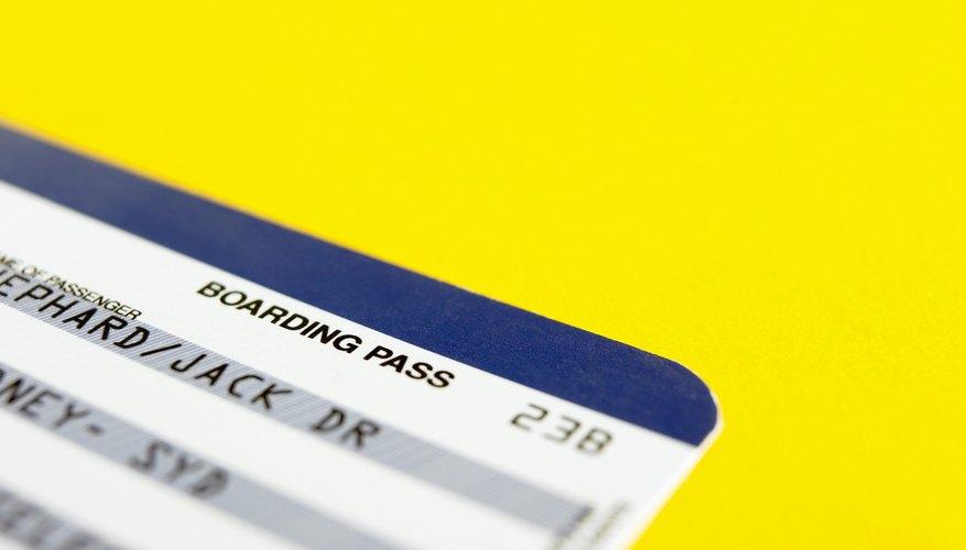 Un niño sólo necesita una tarjeta de embarque para un vuelo nacional a Puerto Rico.