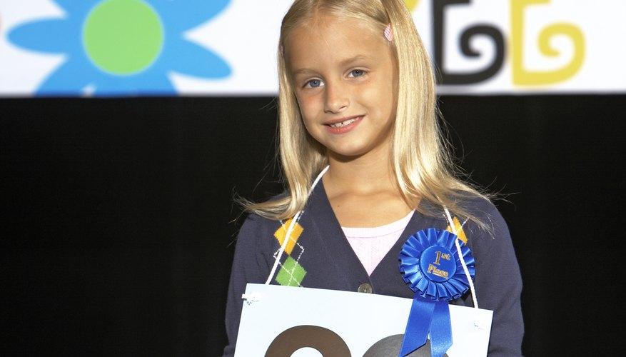 Las escuelas primarias envían sus mejores deletreadores a concursos del condado, distrito y estado.