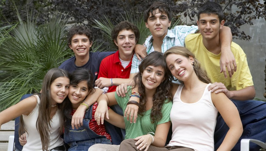 Teens can be strongly influenced by the values of their peers.