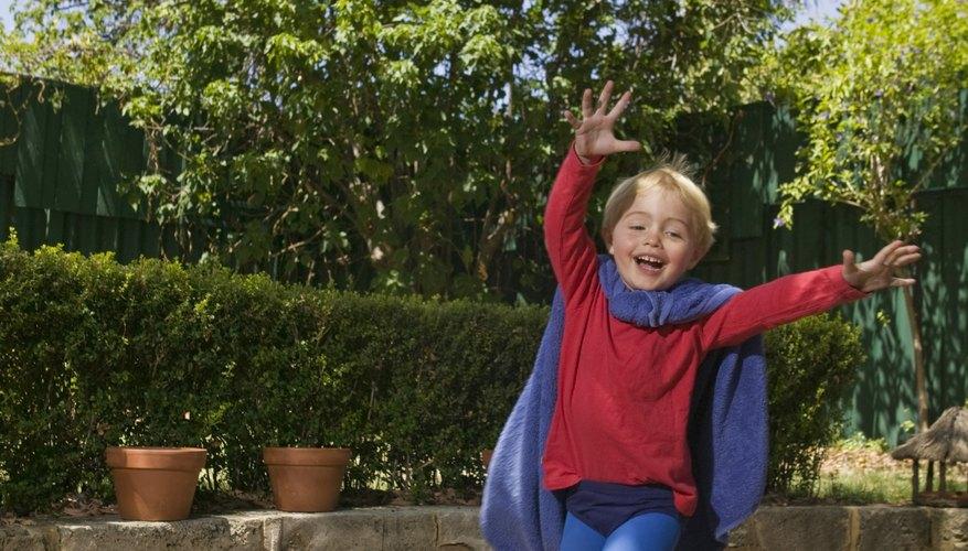 Los niños pueden disfrazarse de su héroe favorito para un concurso.