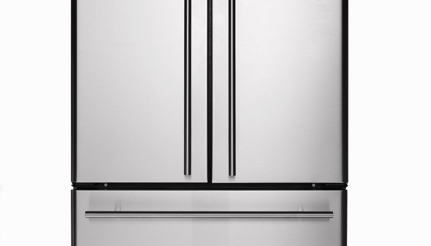 Stainless steel refrigerator/freezer
