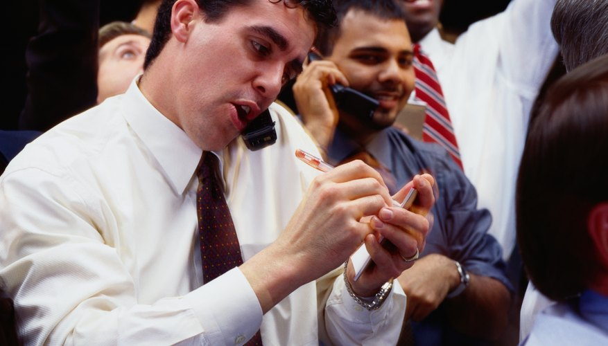 Emotions run high as stock prices fluctuate and traders buy and sell.
