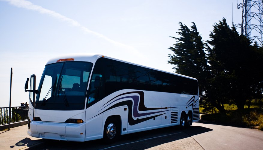 Call ahead to see whether your charter bus will have seat belts.