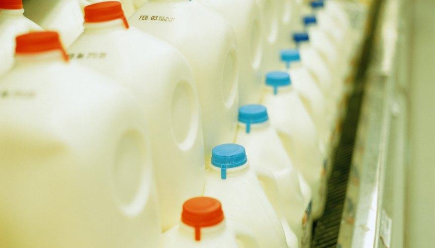 Milk for sale at supermarket