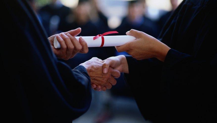 Ceremonia de graduación.
