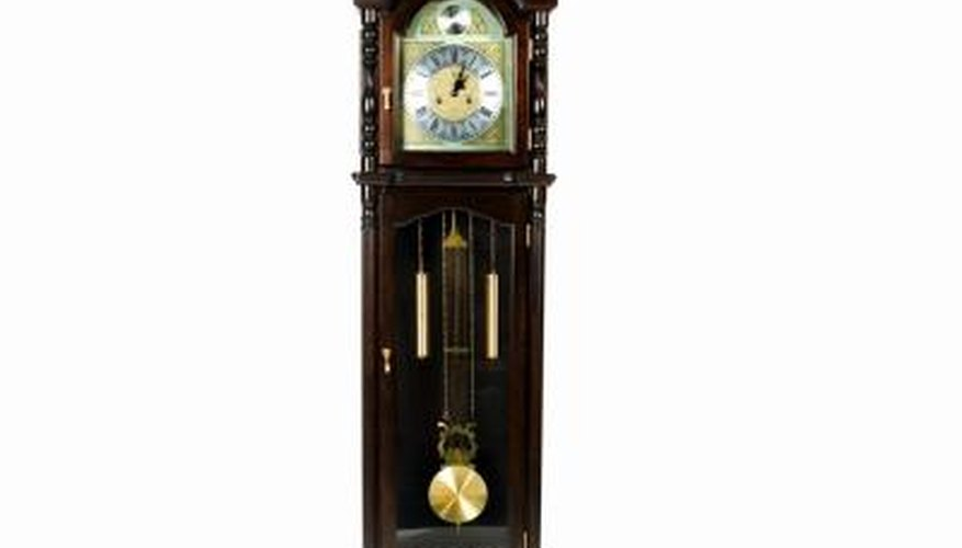The Seth Thomas Clock Company made grandfather clocks for nearly 200 years.
