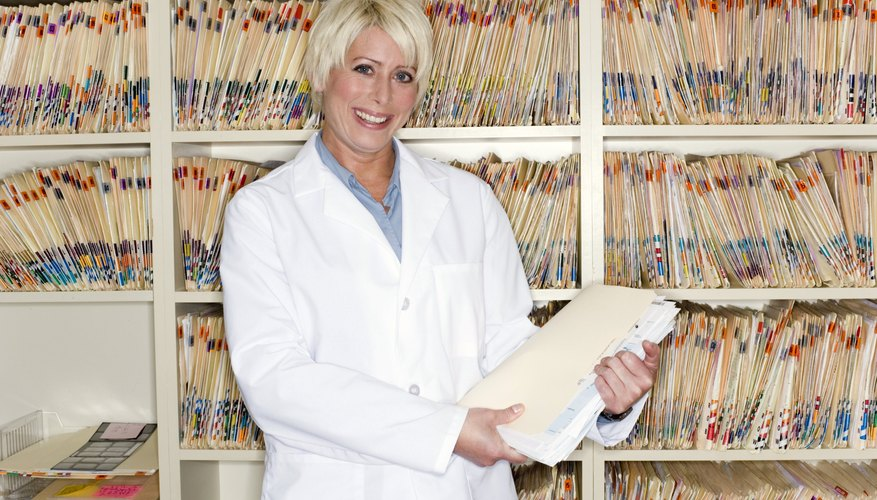 Instead of a file folder doctors will begin using computers to access your medical file.
