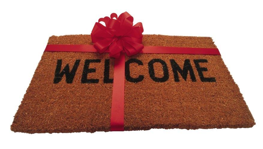 Mudarse a una casa nueva es motivo de celebración.