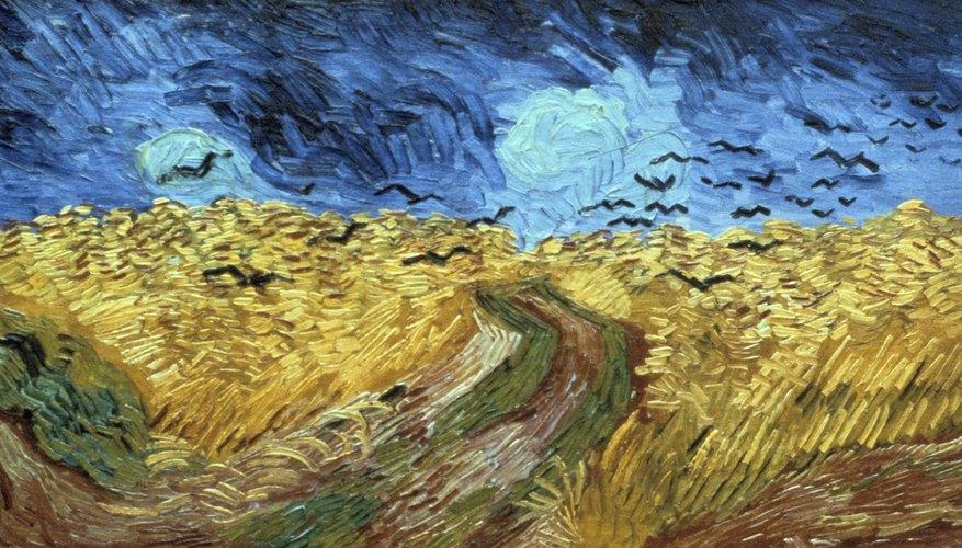 Van Gogh fue un pintor post-impresionista.