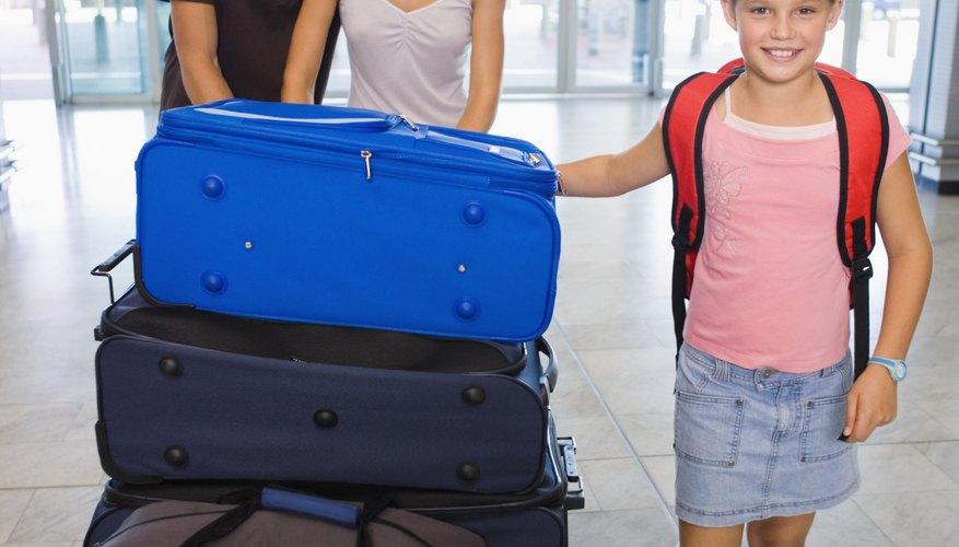 Para las vacaciones familiares lo mejor son las maletas grandes.