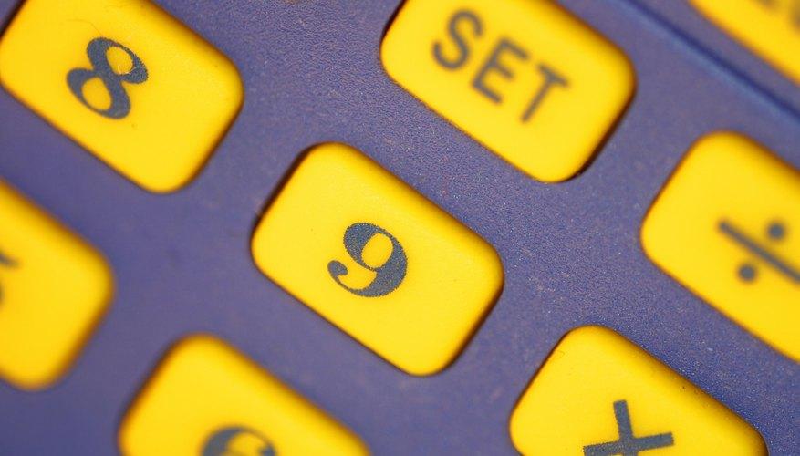 Siempre usa una calculadora para revisar dos veces tu trabajo.