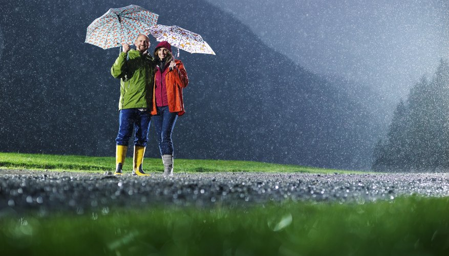 Rainy days do not have to make your date a total washout.