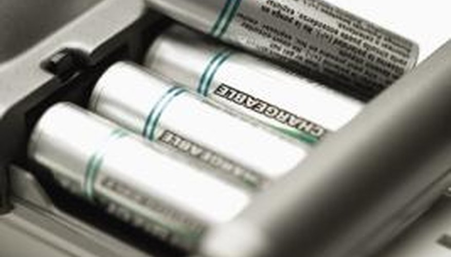 Rechargeable batteries last longer than standard alkaline batteries.