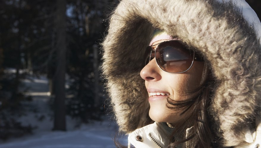 Sunglasses should protect your eyes from sun glare from above and below.