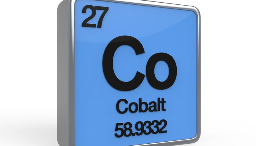What Are The Uses Of Cobalt Sciencing