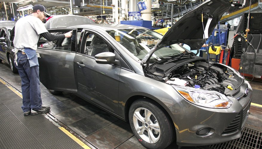 Ford Launches Fifth Plug-In Hybrid Car At Michigan Plant