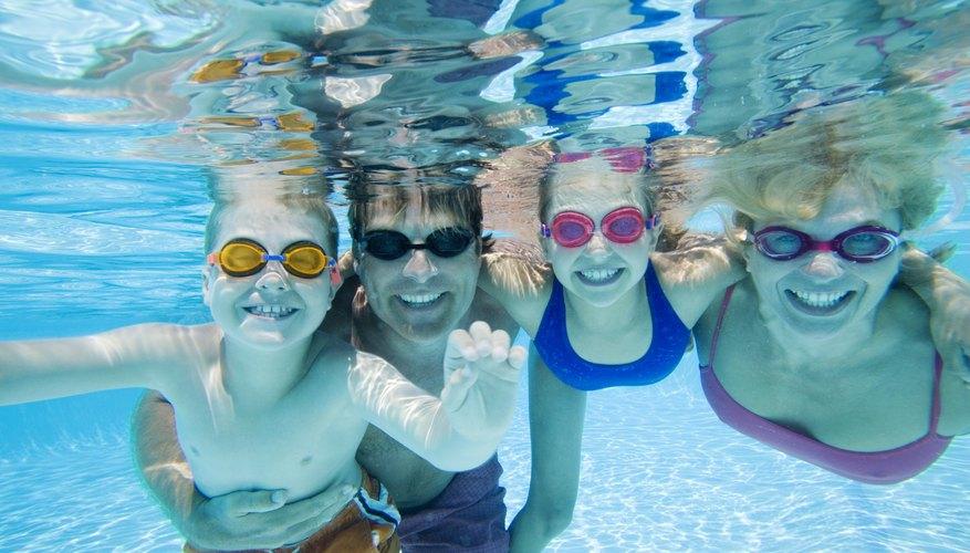 Las actividades acuáticas son formas divertidas de hacer ejercicio.