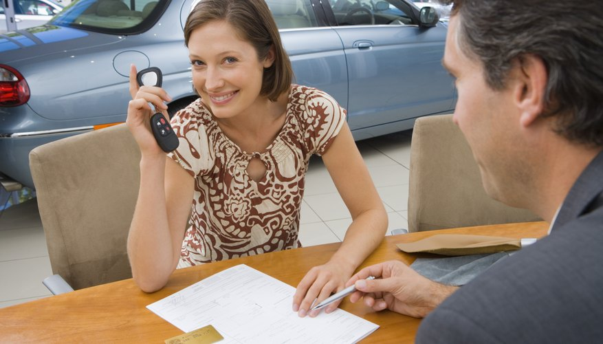 A contract to buy a new or used car offers limited return options.