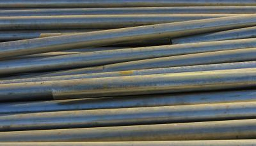 Dissolving steel ammonium alum is a two-step application process.
