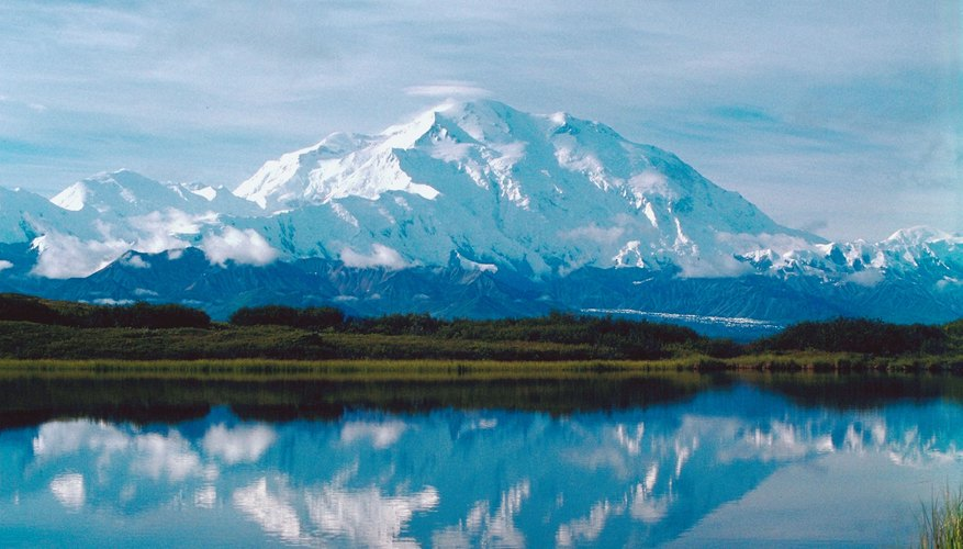 Mount McKinley in Alaska.