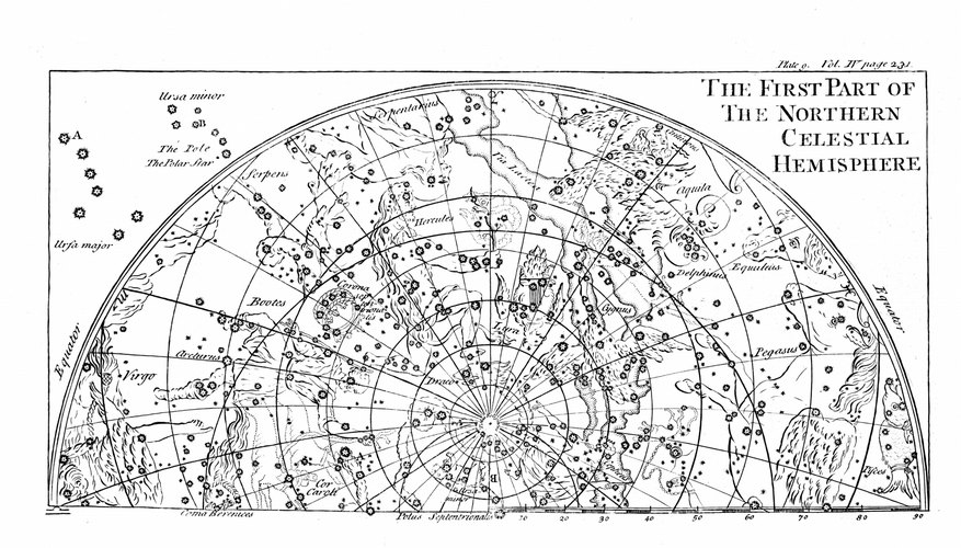 Star charts help you locate a constellation in the night sky.