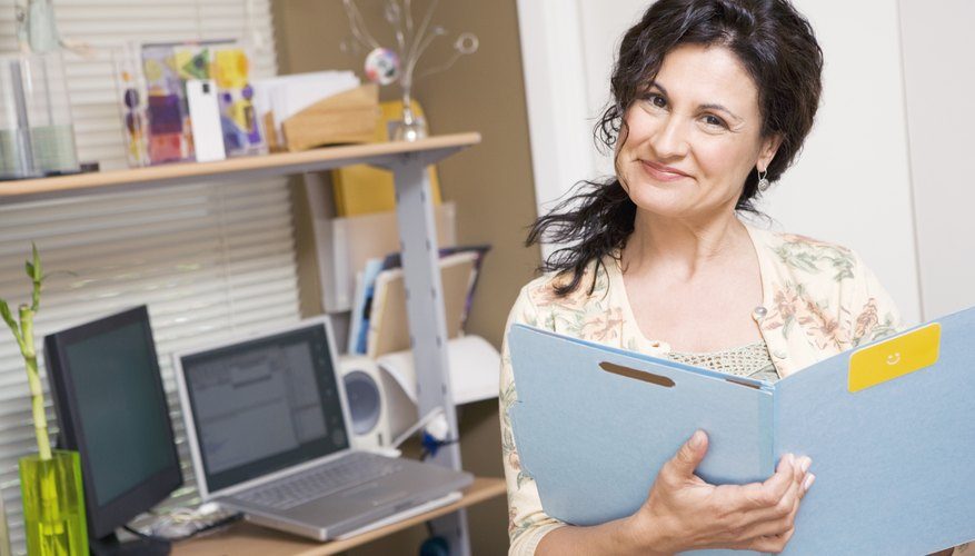 Keep a file for all documents pertaining to your income, inheritances and annuities.
