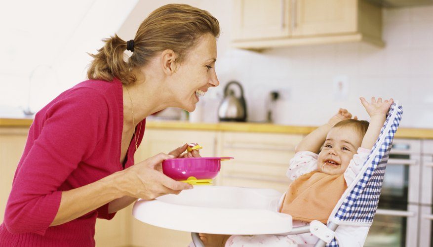 Keep your tone light and cheerful during mealtime.