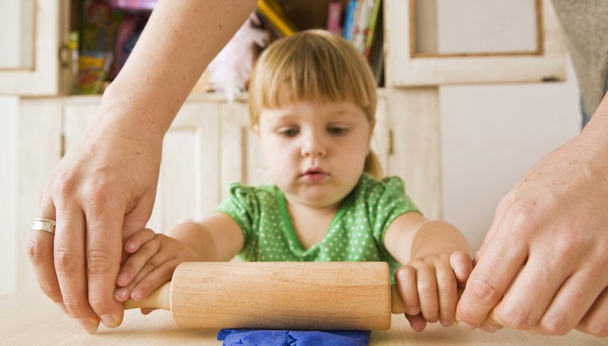 Demonstrate motor skills before you ask your child to perform them.