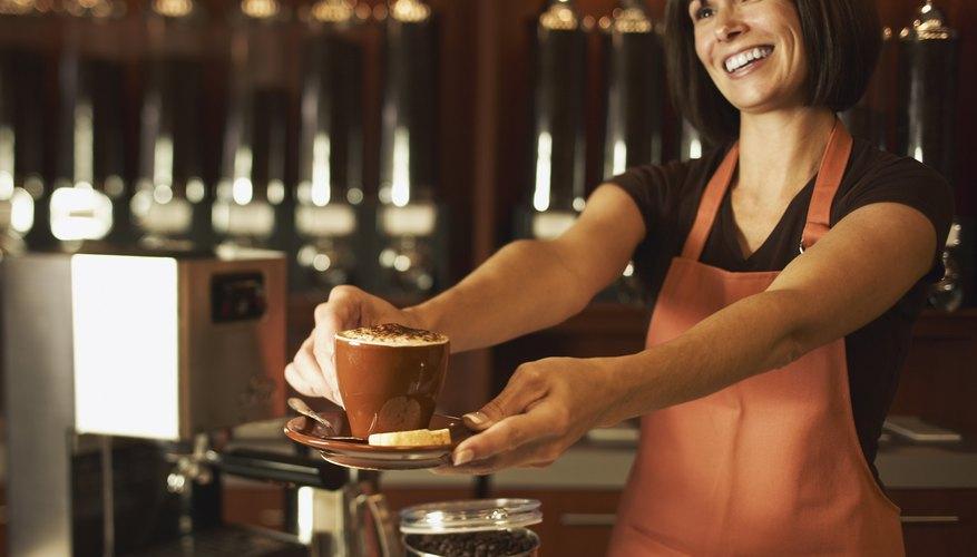 La vajilla es uno de los elementos fundamentales de la cafetería.
