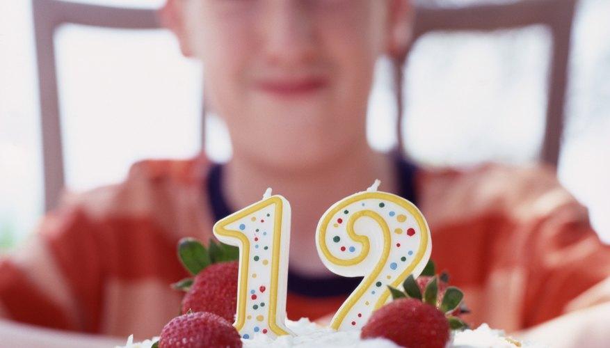 Cumplir 12 es un acontecimiento importante en la vida de un niño.