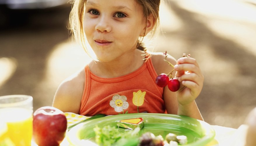 Healthy food fuels your child's growth and development.