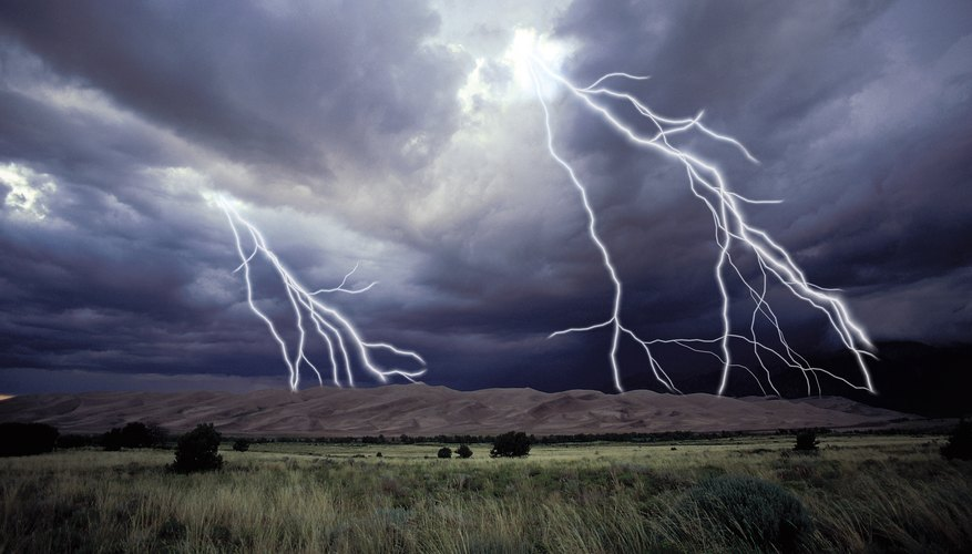 Teach kids about the weather to help ease their fears of thunder and lightning.