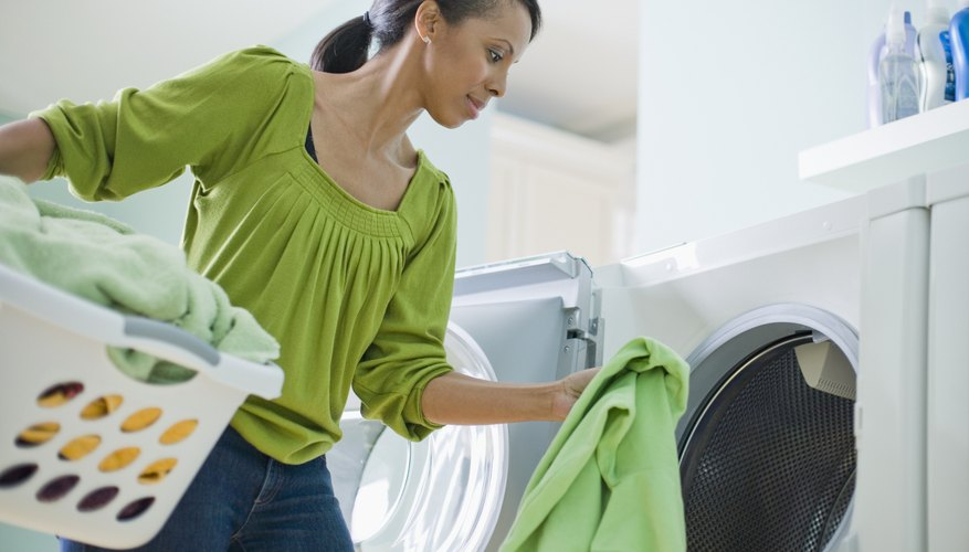 Make sure to dry your laundry on warm or hot.
