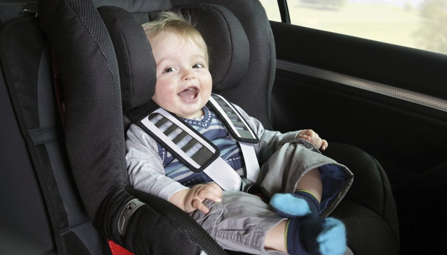 Motorists traveling with children in car seats should use five point harnesses.