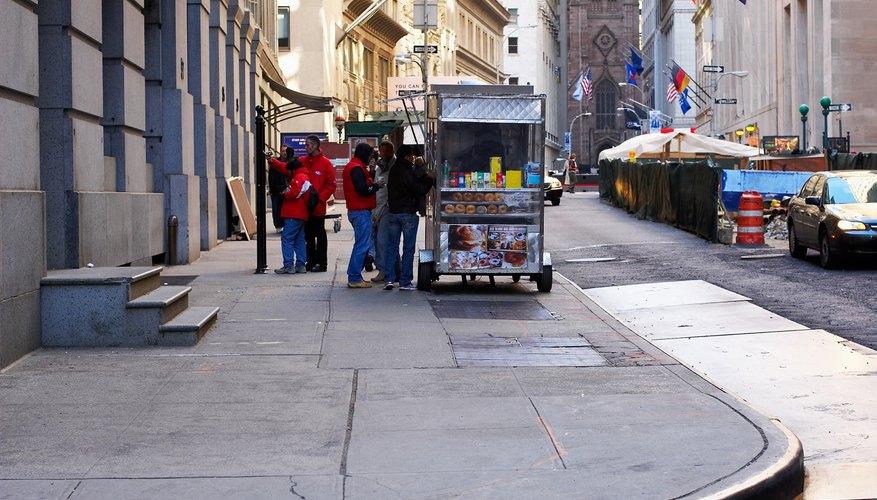 Los vendedores de alimentos necesitan licencias y permisos en la ciudad de Nueva York.