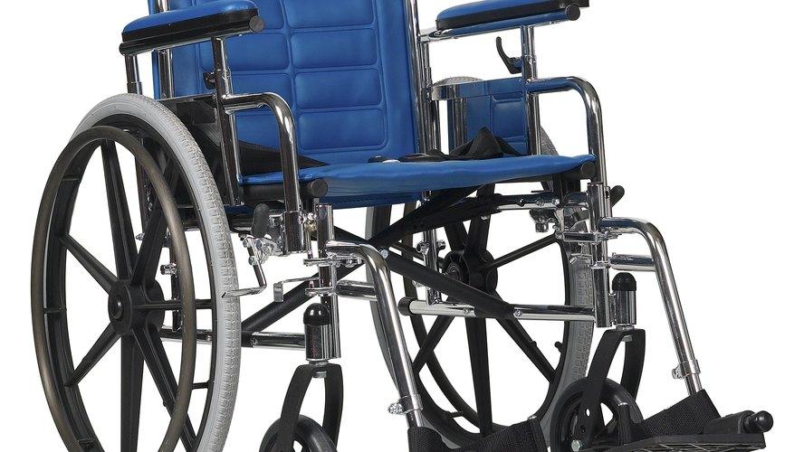 La silla de ruedas.