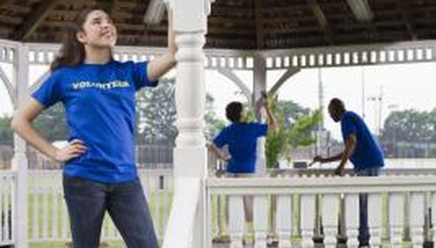 Volunteering is a way for teens to earn job experience during the summer.