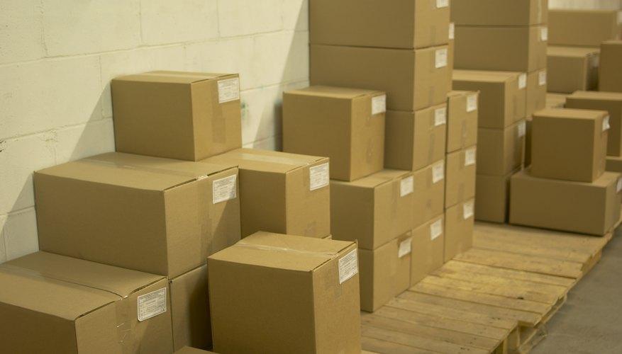 Un almacén eficiente usa la mayoría del espacio disponible.