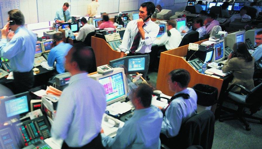 The stock exchange.