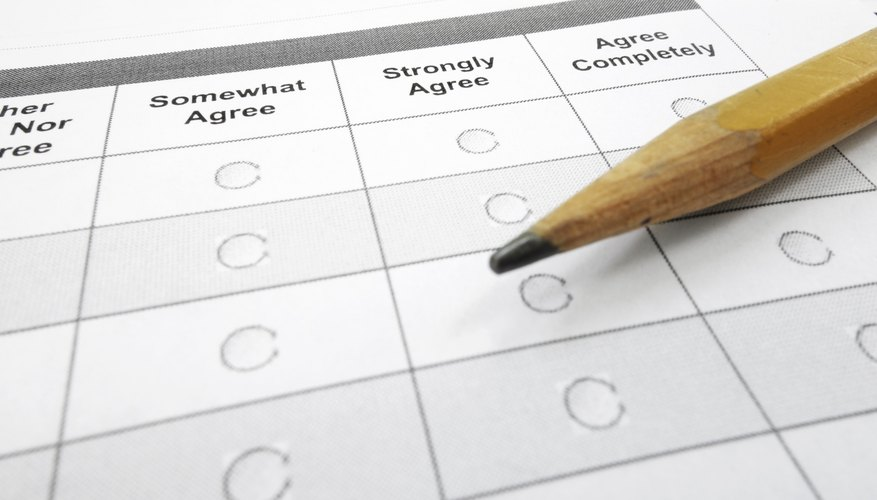 How To Design Training Evaluation Forms  Bizfluent