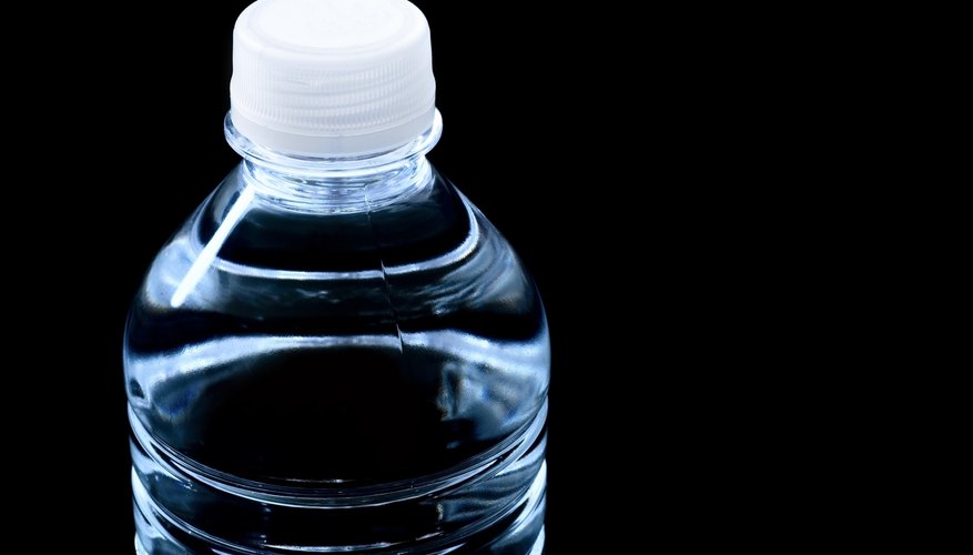 The force of air pressure can make bottles collapse in cold weather.