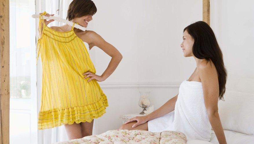 Usar rópa cómoda y ligera te ayudará a estar más segura durante la entrevista.
