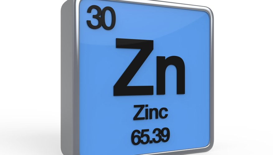 Zinc Has An Atomic Mass Of 65.39 Atomic Mass Units.