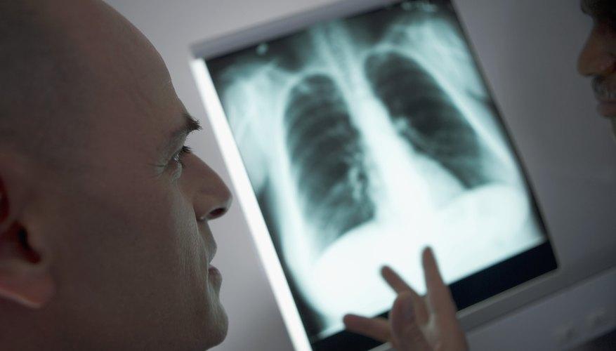 La respiración ocurre en los pulmones.