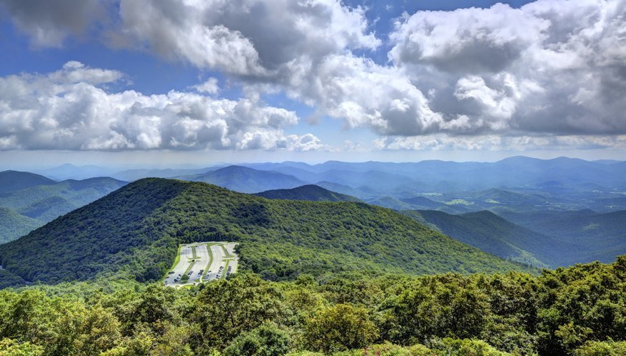 Appalachian mountains from Georgia