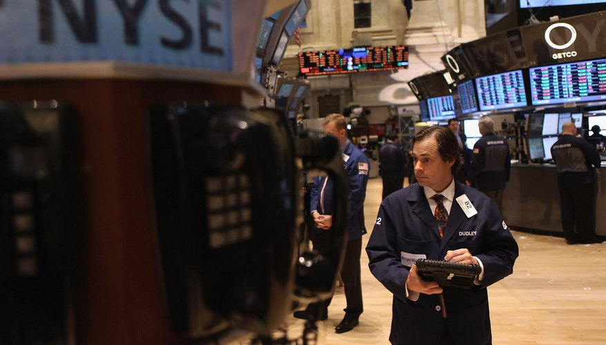 The stock market consists of stock exchanges and other financial institutions.