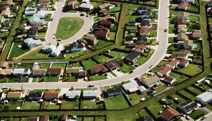 An HOA may help maintain the shared areas in a subdivision.