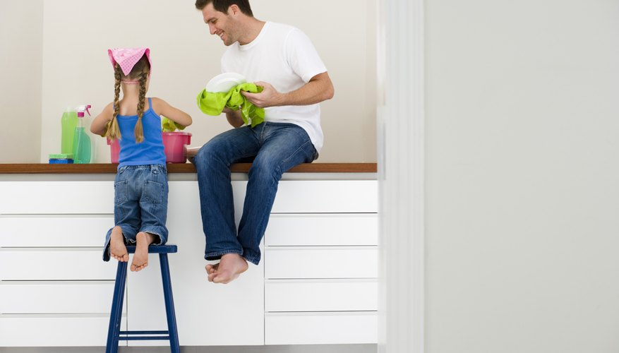 Making shared activities, even chores, about quality time with your child will motivate her to cooperate.
