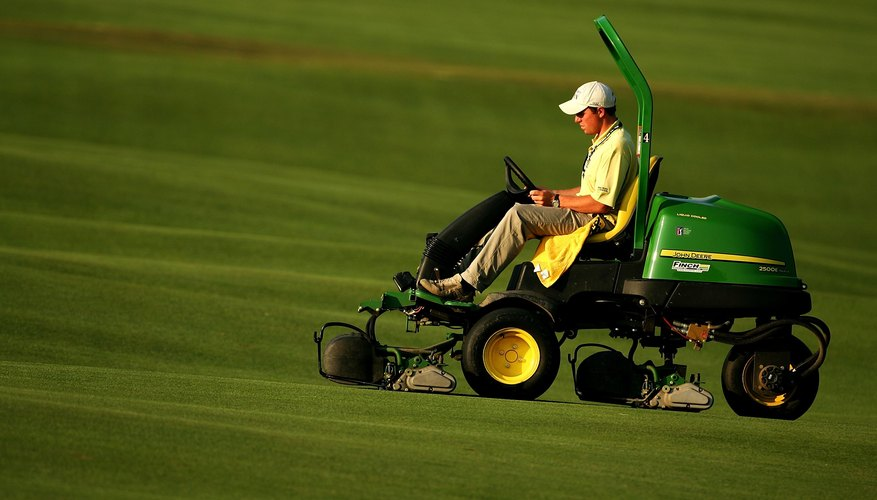 John Deere lawnmowers cover a wide range of jobs.